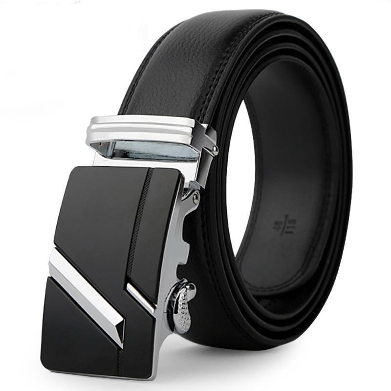 Men's Automatic Leather Strap Fashion Belt