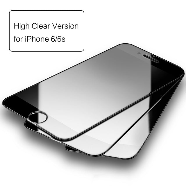 3 Pieces Tempered Glass for iPhone 6 7 plus, ROCK Anti-blue/High Clear Screen Protector Glass for iPhone 7 6 6s plus 3pcs set