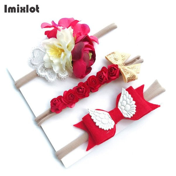 3pcs/set Mix Style Headband for Girls