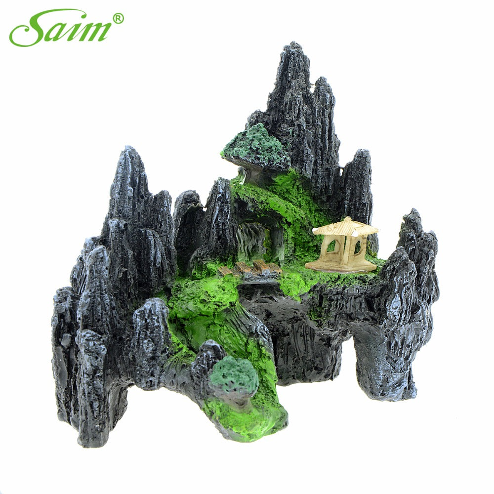 "5.7"" Saim Aquarium Decoration For Fish Tank"