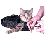 Polyester Cat Grooming Bag Restraint Cats Nail Clipping Cleaning Grooming Bag Pet Supply