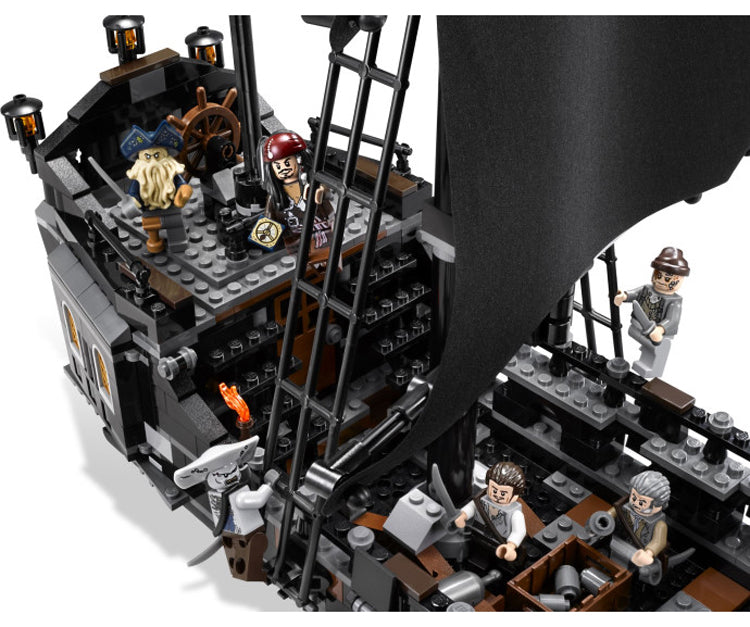 DHL lepin 16006 804pcs building bricks Pirates of the Caribbean the Black Pearl Ship model Toys Compatible 4184