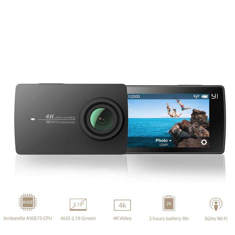 4K A9SE Sports Action GoCam with LCD Touch Screen