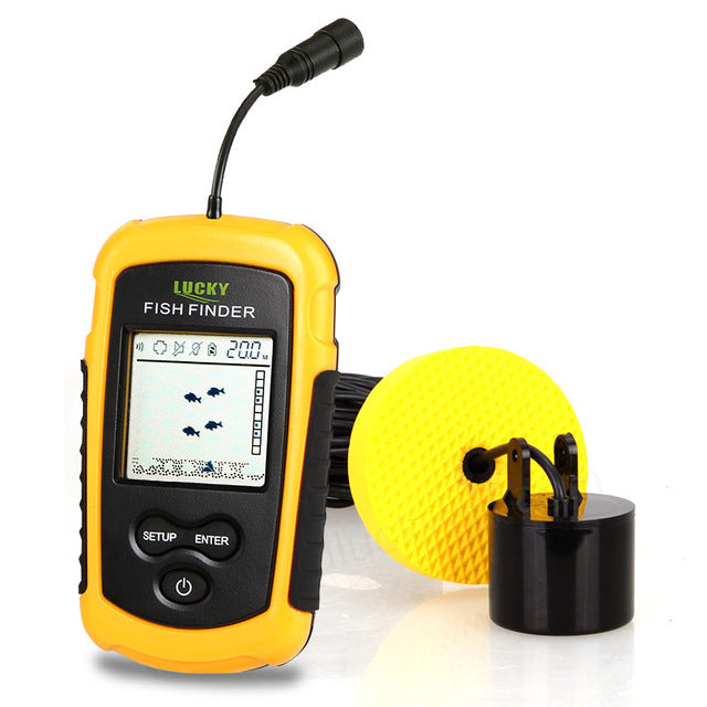Portable Bluetooth Echo-Sonar Fish Finder