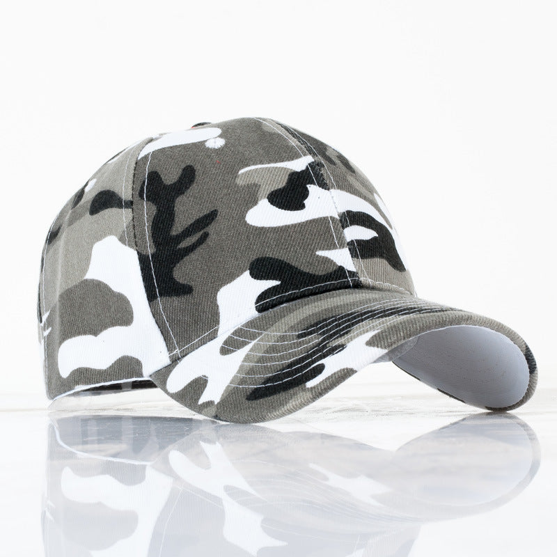 Uni  Army Camo Cap Camouflage Baseball Hats For Men Blank Desert Camo Snapback Hat Camping Hiking Hunting CS Caps YY113
