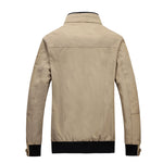 Men's Business Casual Bomber Jacket