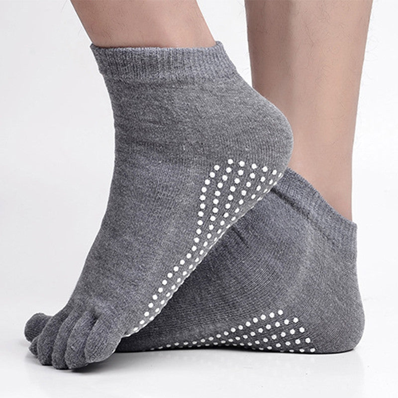 Sports Fitness Socks Five-toe Anti-skid Breathable Climbing Camping Hiking Running Cycling Yoga Men Dispensing Socks
