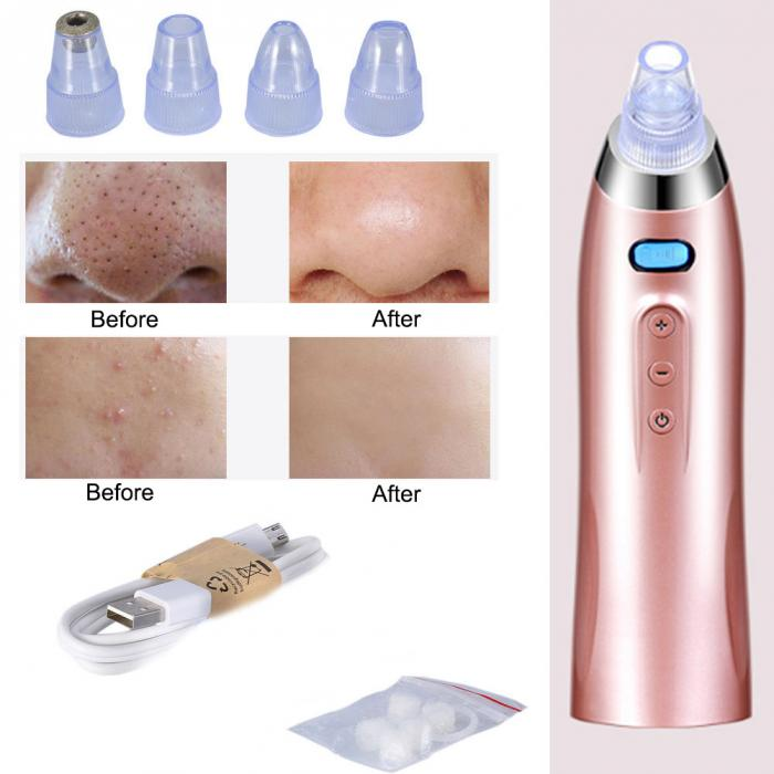 Electric Facial Pore Suction Cleansing Kit
