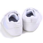 Baby Shoes Boy Girls Cool Sports Running White Flats Shoes Boys Cotton Casual Soft Soled Sports Sneakers For First Walker