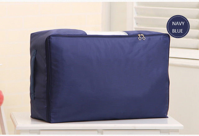 Oxford Under Bed Dustproof Fabric Storage Organizer