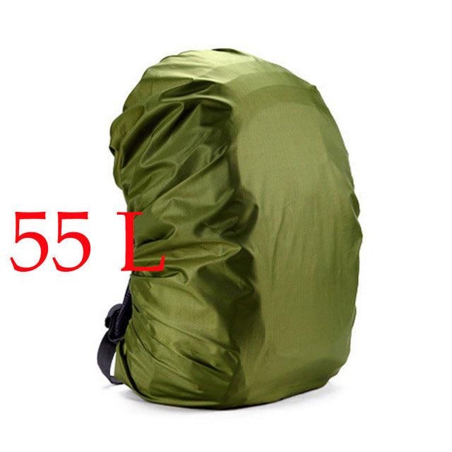 Lightweight   Camouflage   Backpack   Nylon   Cover   Green   Rain   Army