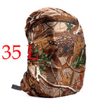Nylon Army Green Camouflage Lightweight Backpack Rain Cover