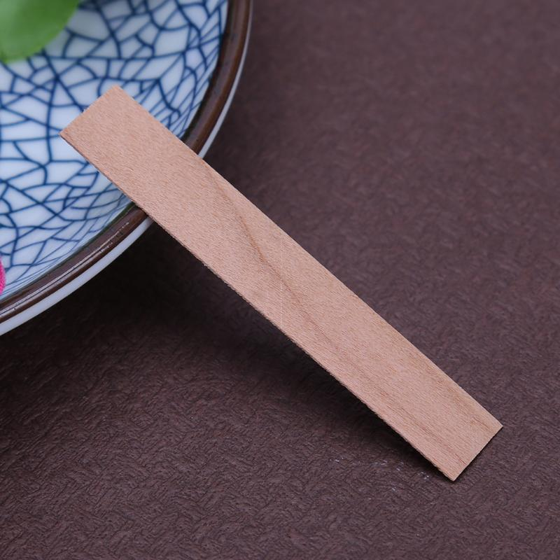 50pcs/lot Wooden Candles Core Wicks for Candles Soy or Palm Wax Candle Making Supplies DIY Candle Making Pick Home Decor