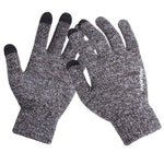 Unisex Wool Knitted Touchscreen Gloves