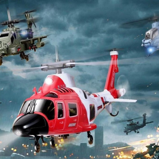 Mini 3.5CH Military RC Helicopter