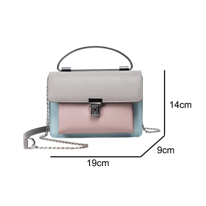 Women's Leather Shoulder Crossbody Fashion Messenger Bag