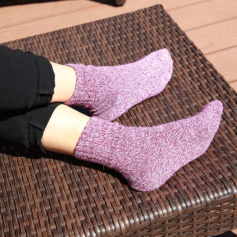 5 Pack: Women's Thermal Cotton Thick Winter Socks