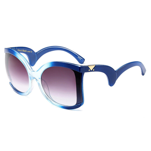 ROYAL GIRL Brand Designer Butterfly Sunglasses for women oversize Retro wrap Sun glasses UV400 Shades ss127