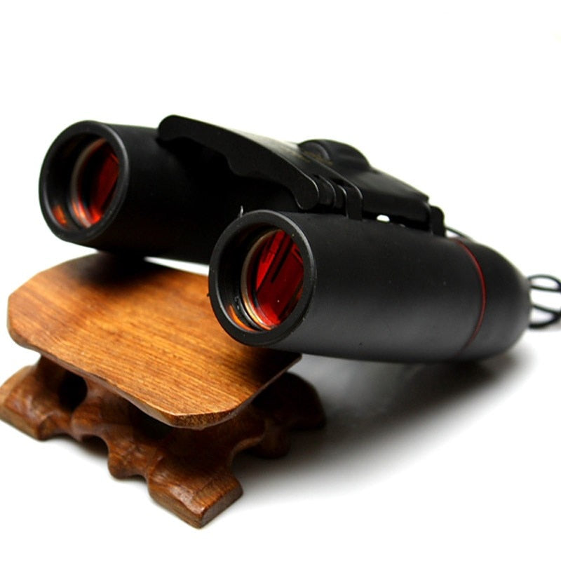 Folding Binoculars 30x60 1000mHD Optics Zoom with Low Light Night Vision