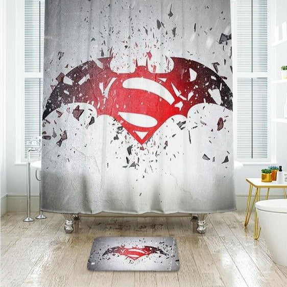 Waterproof Polyester Batman Shower Curtain