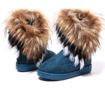Women's Fur Lined Anti-Skid Winter Boots