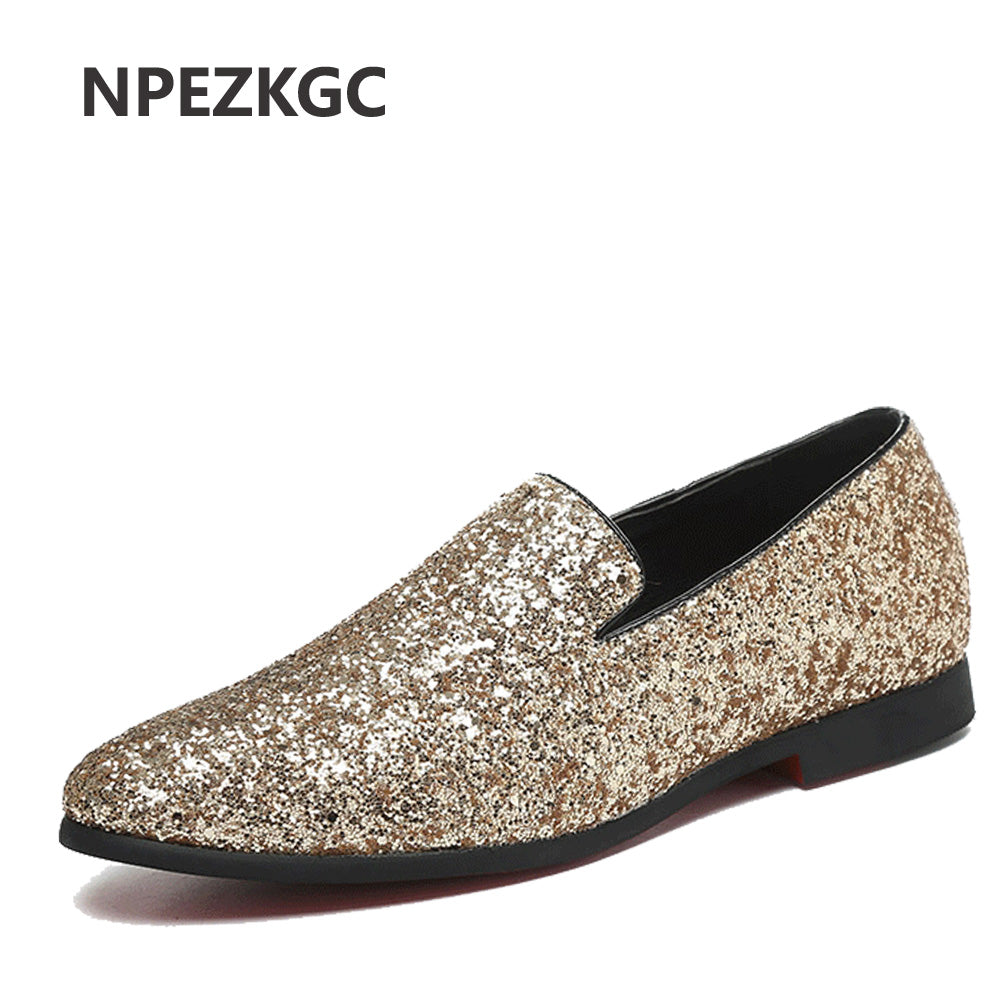NPEZKGC Fashion Summer Style Soft Moccasins Men Loafers High Quality PU Leather Shoes Men Flats Gommino Driving Shoes