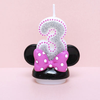 Birthday Cake Number Candles