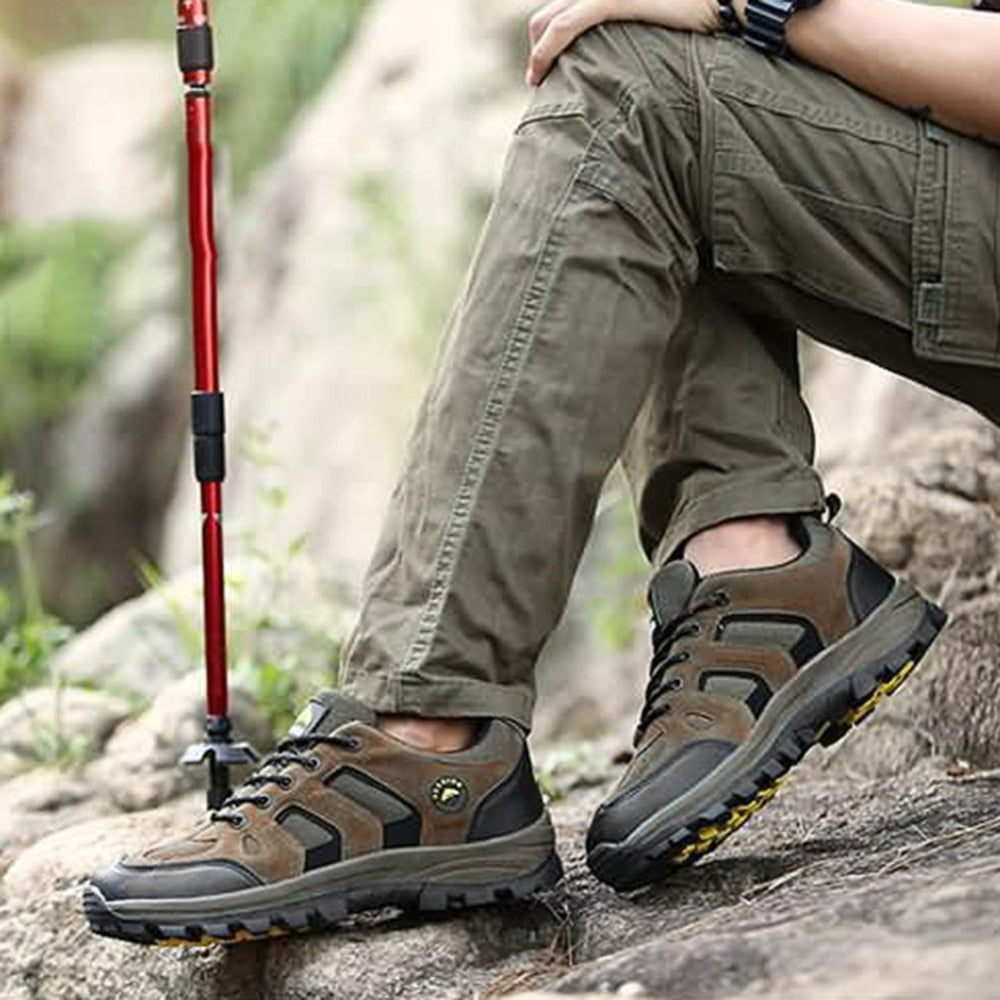 Men's Breathable Outdoor Hiking and Camping Shoes