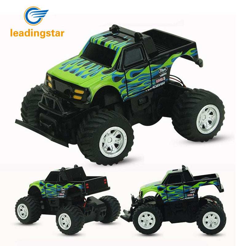 LeadingStar RC Car 4 Channel Radio 2.4GHz Rock Crawlers Rally climbing Car Bigfoot Car Remote Control Model Off-Road Vehicle Toy