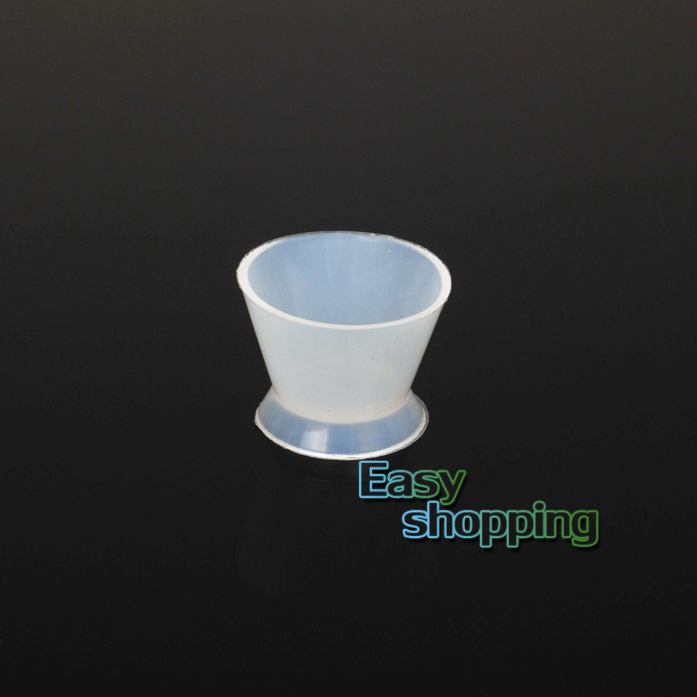 4*New Dental Lab Silicone Mixing Bowl Cup Silicone Mixing Bowl Cup