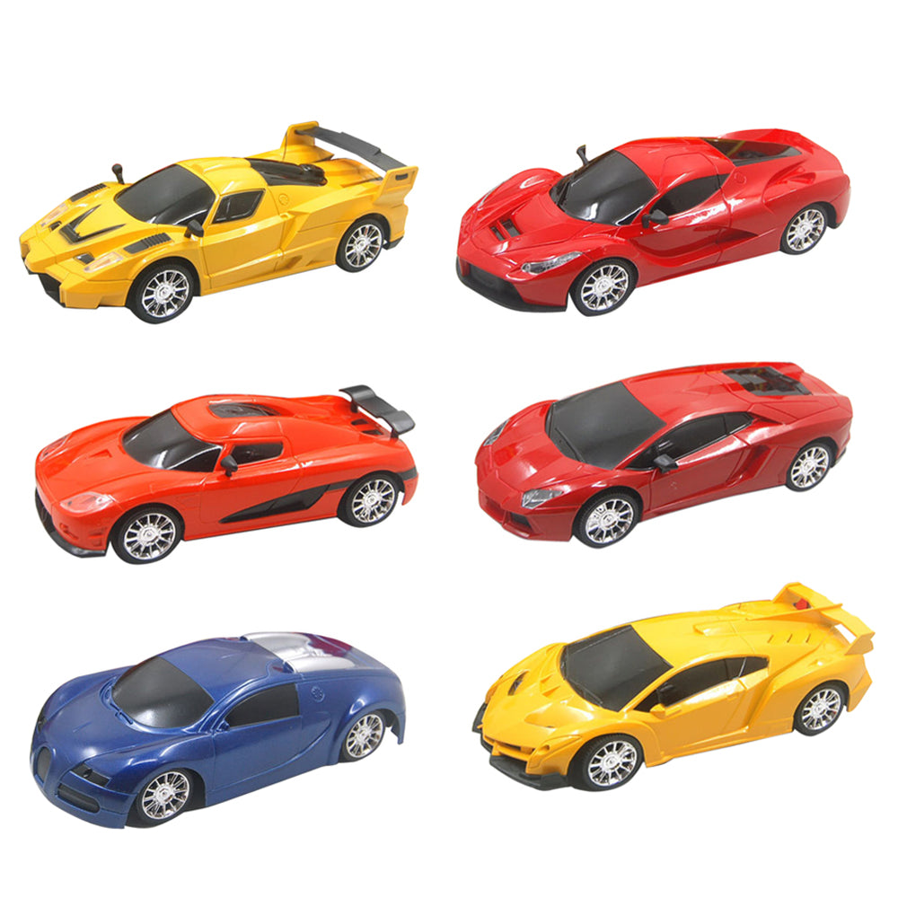 Scale 2CH RC Car Model Kids Children Simulation Remote Control Car Toy 1 Pc RC Car Christmas Gift Random Color And Type