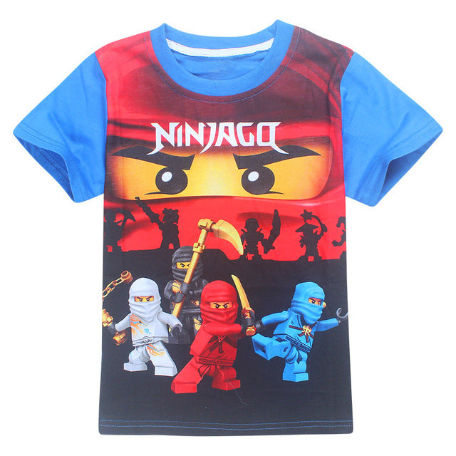 Cartoon | Costume | T-Shirt | Summer | Cotton | Ninja | Movie | Cloth | Shirt | Girl | Kid | Tee | Top