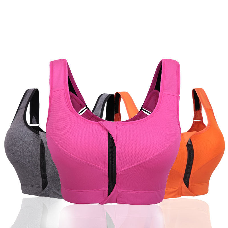 Professional Level Stretch Quick-drying Adjustable Strap Sports Bras