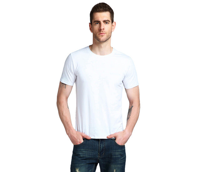 Fashion | T-Shirt | Summer | Cotton | Casual | Sleeve | Cloth | Solid | Short | Shirt | Male | Neck | Tee | Men | Top