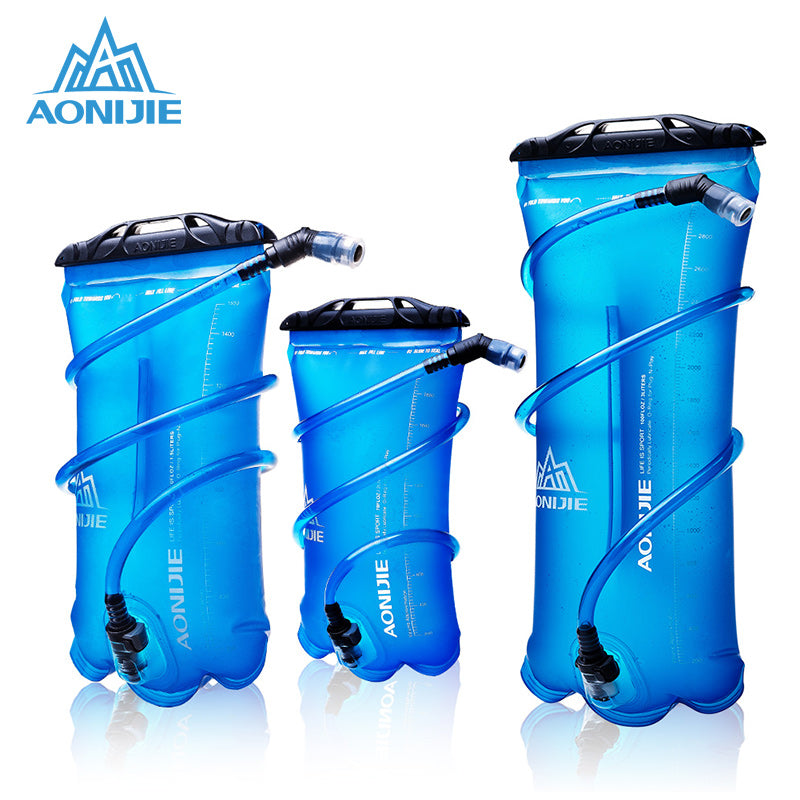 AONIJIE Outdoor Water Bag For Camping Hiking Climbing Cycling Running Foldable PEVA Sport Hydration Bladder 1.5L 2L 3L