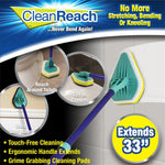 Baseboard Buddy Simply Glide Extendable Microfiber Cleaning Product  Mop Sponge Mop 3 In 1 No Dead Mop