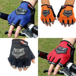Gym Sports Fitness Exercise Anti-Slip Weightlifting Half-Finger Gloves