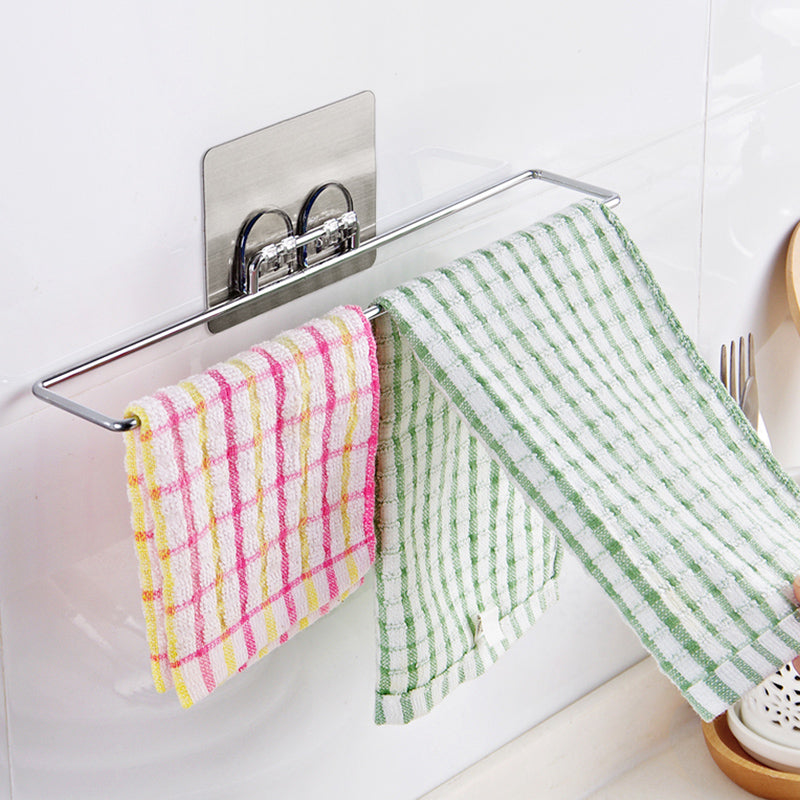 Stainless Steel Creative Hanging Bathroom Towel Rack