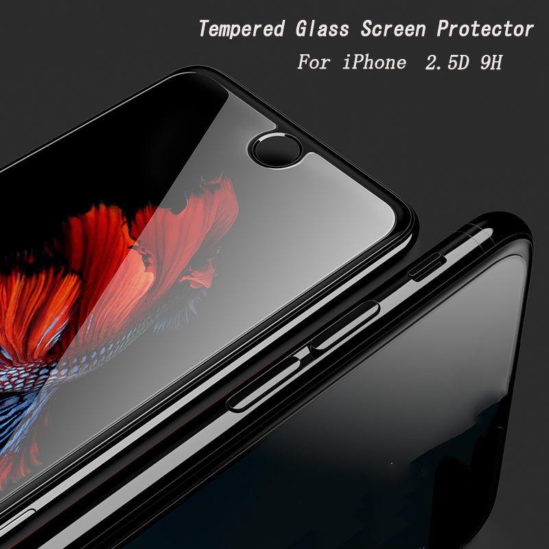 OTAO For Apple iPhone X 8 7 6 6S Plus 5 5S 5C SE 4 4S Tempered Glass Screen Protector Film 9H HD Protective Glass For iPhone 10