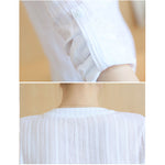 Blusas Femininas E Camisas Long Sleeve Shirt Women Clothes White Blouse Plus Size Korean Fashion Clothing Chemise Femme
