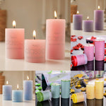 Scented Wedding Column Candles