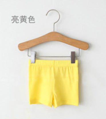 Baby Kids Girls Summer Style Casual Pants Leggings Skinny Stretch Safety Shorts clothes