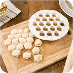 DIY White Plastic Dumpling Mold Maker Dough Press