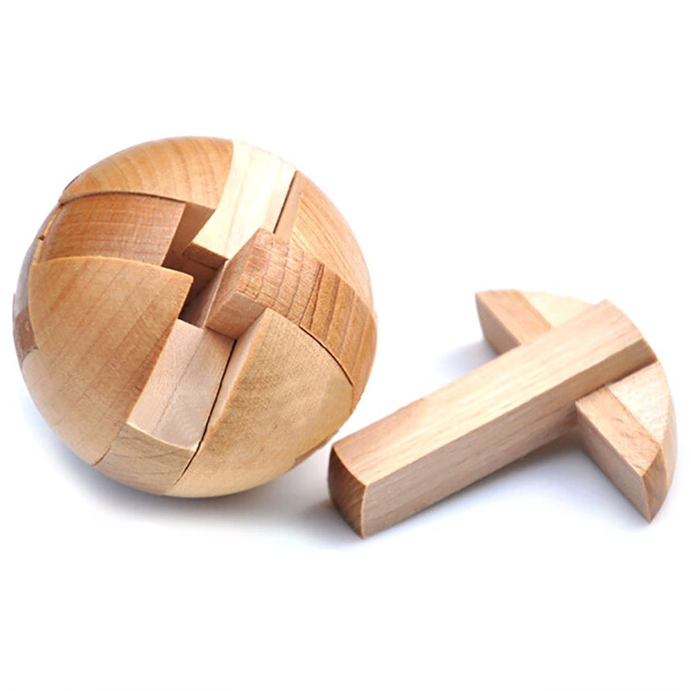 Wooden Puzzle Magic Ball Brain Teaser