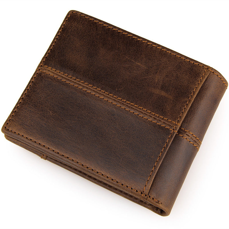 JMD NEW 100% top quality cow genuine leather men wallets fashion splice purse dollar price carteira masculina original brand