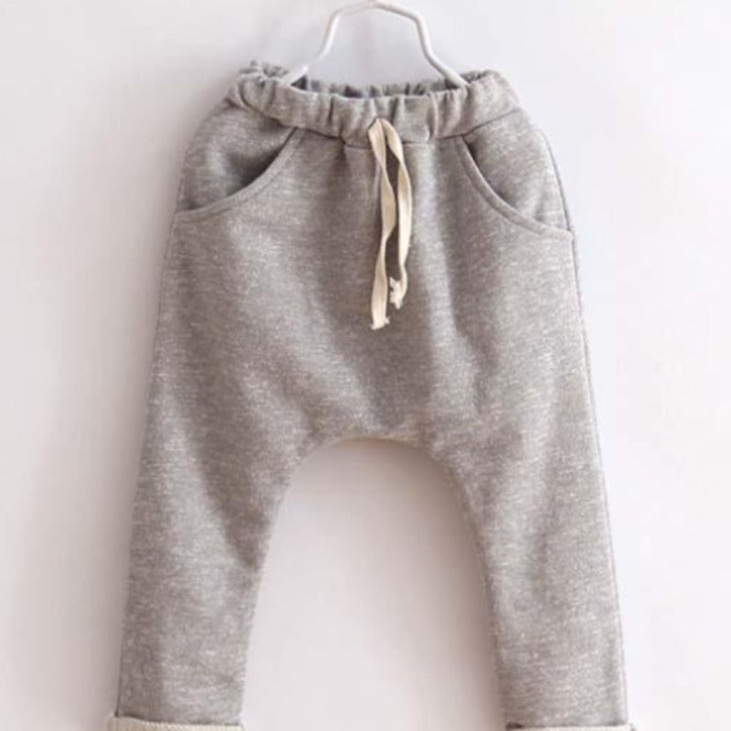 Sophie children harem pants for boys trousers kids child casual pants candy solid colors