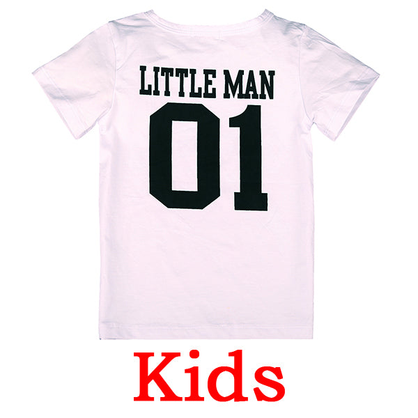 HE Hello Enjoy family matching outfits father and son baby summer family outfits clothing T-shirt for dad and son clothes