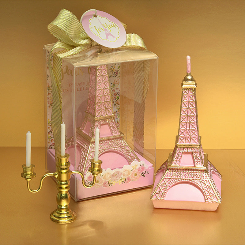 Creative MIni Eiffel Tower Birthday Candle Romantic Valentine's Day