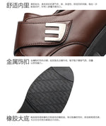 Fashion business soft summer men driving business shoes men Sapato social men casual leather flat shoes