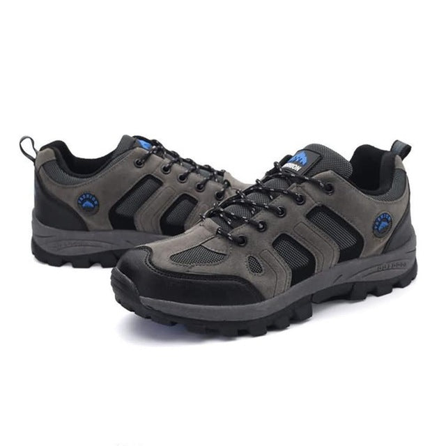 YG46170 Breathable Flat Heel Outdoor Climbing Shoes Outdoor Sports Camping Walking Hiking Trekking Gym Sneakers For Men Male